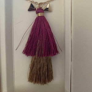Lily Sky Designs Tassel Necklace and Earrings Set